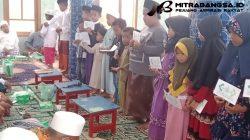 Amanah Nabi Mengetuk Hati, LAZISNU Manding Hadir di Pondok Pesantren AL-Bajigur