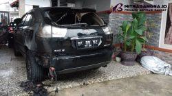 Astaqfirullah, Mobil Pimred Media Realitas Dibakar OTK