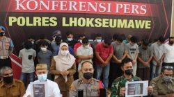 22 Jemaah Judi Online Chip High Domino Ditangkap Polisi