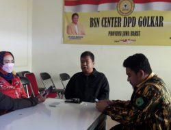 Untuk Kemenangan, BSN Partai Golkar Jawa Barat Siap Gelar Rakoor di Bogor