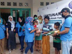 Komunitas Saudara Gerak Nusantara Santuni Anak Yatim Dan Dhuafa